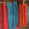 Colors from local natural dye plants